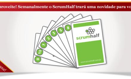 Promoção: Cartas Planning Poker do ScrumHalf