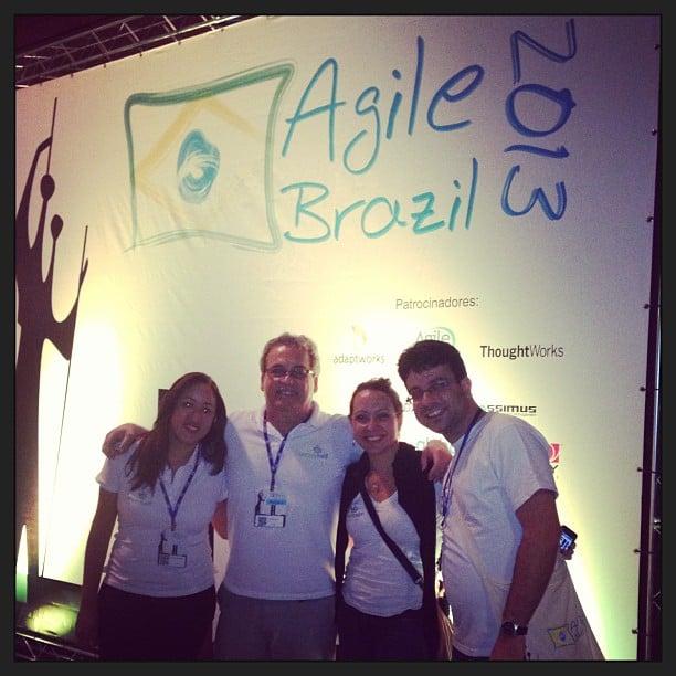 Agile Brazil 2013 Equipe ScrumHalf