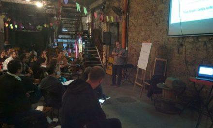 Team ScrumHalf no 10o. Rio Agile Beer com Testes