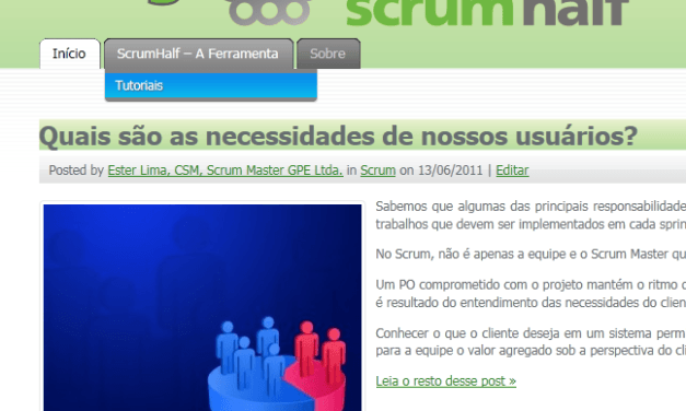 Tutoriais no Blog do ScrumHalf