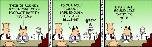 Copyright - Dilbert by Scott Adams