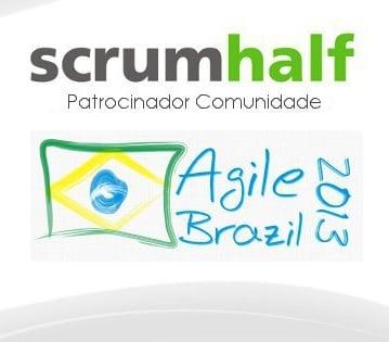 ScrumHalf patrocina o AgileBrazil 2013
