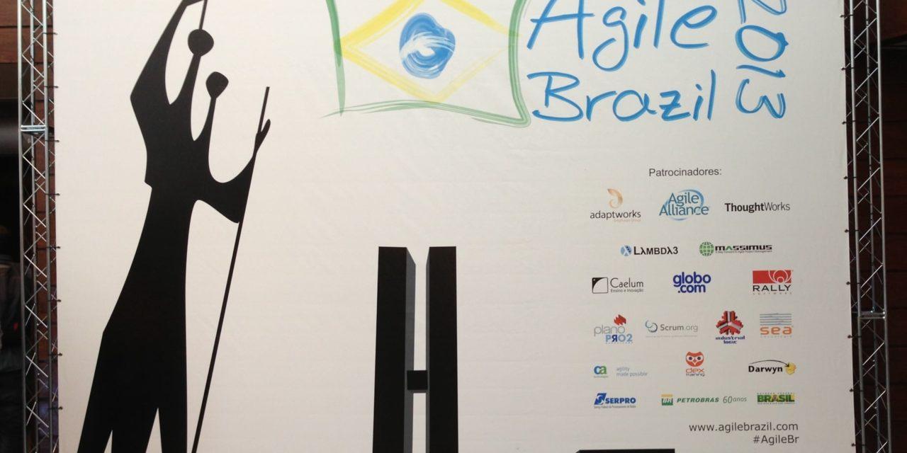 Panorama do Evento Agile Brazil 2013