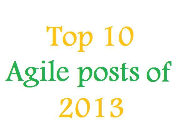 10 Posts Mais Lidos em 2013 Sobre Agilidade
