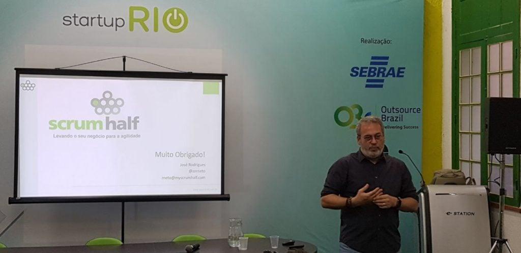 ScrumHalf Agile Manager no Startup Rio